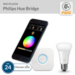 NEO PlugIn Philips hue Bridge - 24 Monate SUS