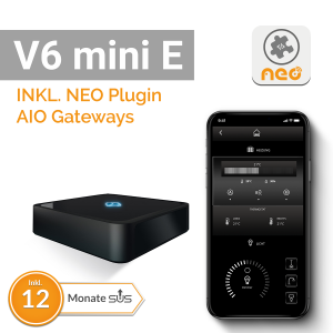 AIO Gateway V6 mini E inkl. Lizenz für AIO Gateways SUM-4100