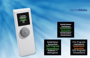HomeMatic Funk-Display Fernbedienung Bausatz
