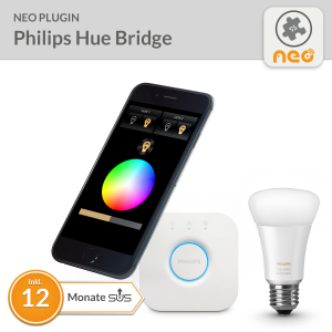 NEO PlugIn Philips hue Bridge - 12 Monate SUS