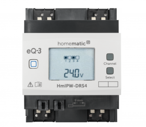 Homematic IP Wired Schaltaktor 4-fach