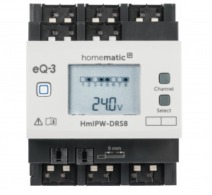 Homematic IP Wired Schaltaktor – 8-fach