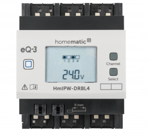 Homematic IP Wired Jalousieaktor - 4-fach