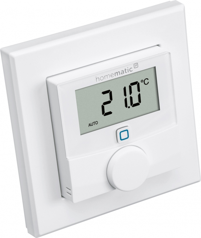 homematic ip wandthermostat homematic by msc. Black Bedroom Furniture Sets. Home Design Ideas