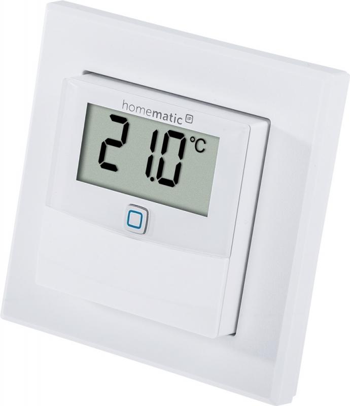 homematic ip temperatur und luftfeuchtigkeitssensor mit. Black Bedroom Furniture Sets. Home Design Ideas