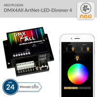 NEO Plugin DMX4All ArtNet-LED-Dimmer 4 - 24 Monate SUS
