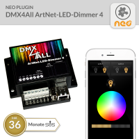 NEO Plugin DMX4All ArtNet-LED-Dimmer 4 - 36 Monate SUS