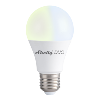 Shelly Duo E27 - smart WiFi LED Glühbirne
