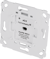 Homematic IP Wired Wandtaster für Markenschalter - 2-fach