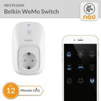 NEO PlugIn Belkin WeMo Switch - 12 Monate SUS