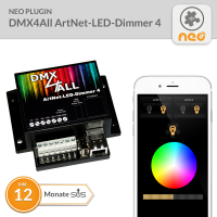 NEO Plugin DMX4All ArtNet-LED-Dimmer 4 - 12 Monate SUS